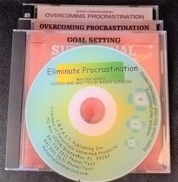 Eliminate Procrastination (a four title set)