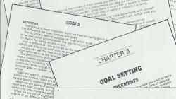 CUP Course Chapter 03 Goal Setting